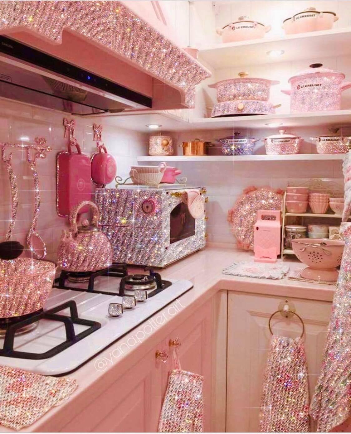 pink princess kitchen in 2020 on kitchen decor pink id=87255