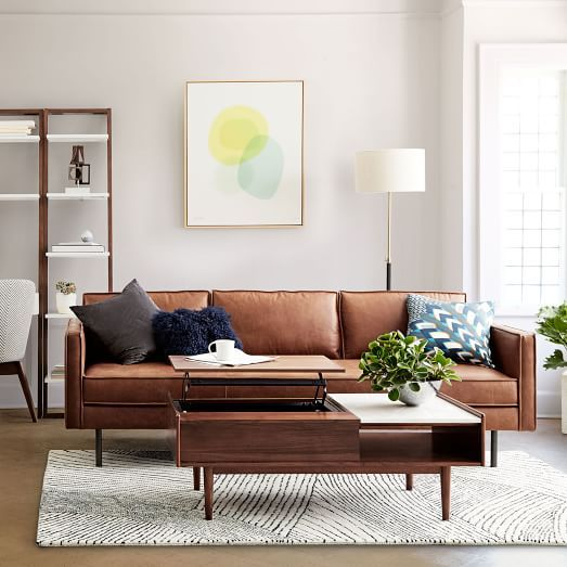 Axel Leather Sofa 89 Living Room Sofa Sofa Design Living Room Remodel