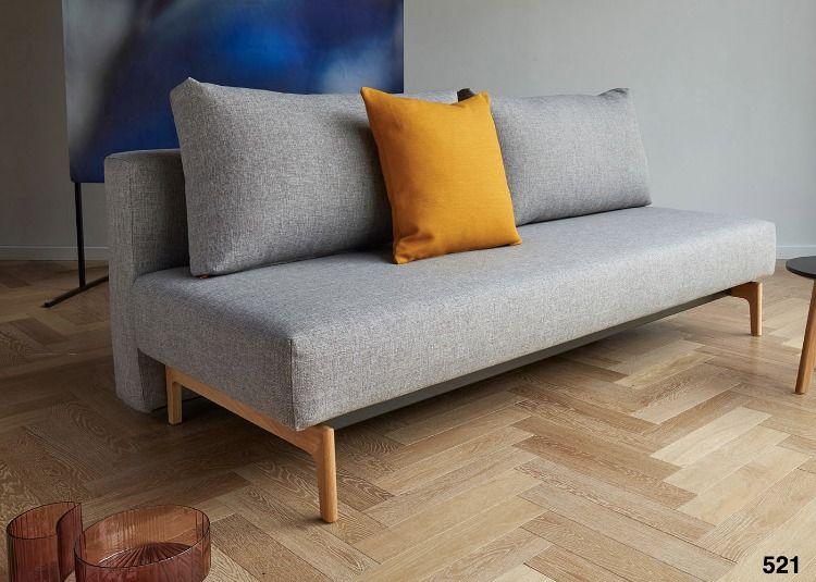 Canape Gris Convertible En Lit 2 Places Ksl Living Canape Lit Design Canape Lit Canape Convertible