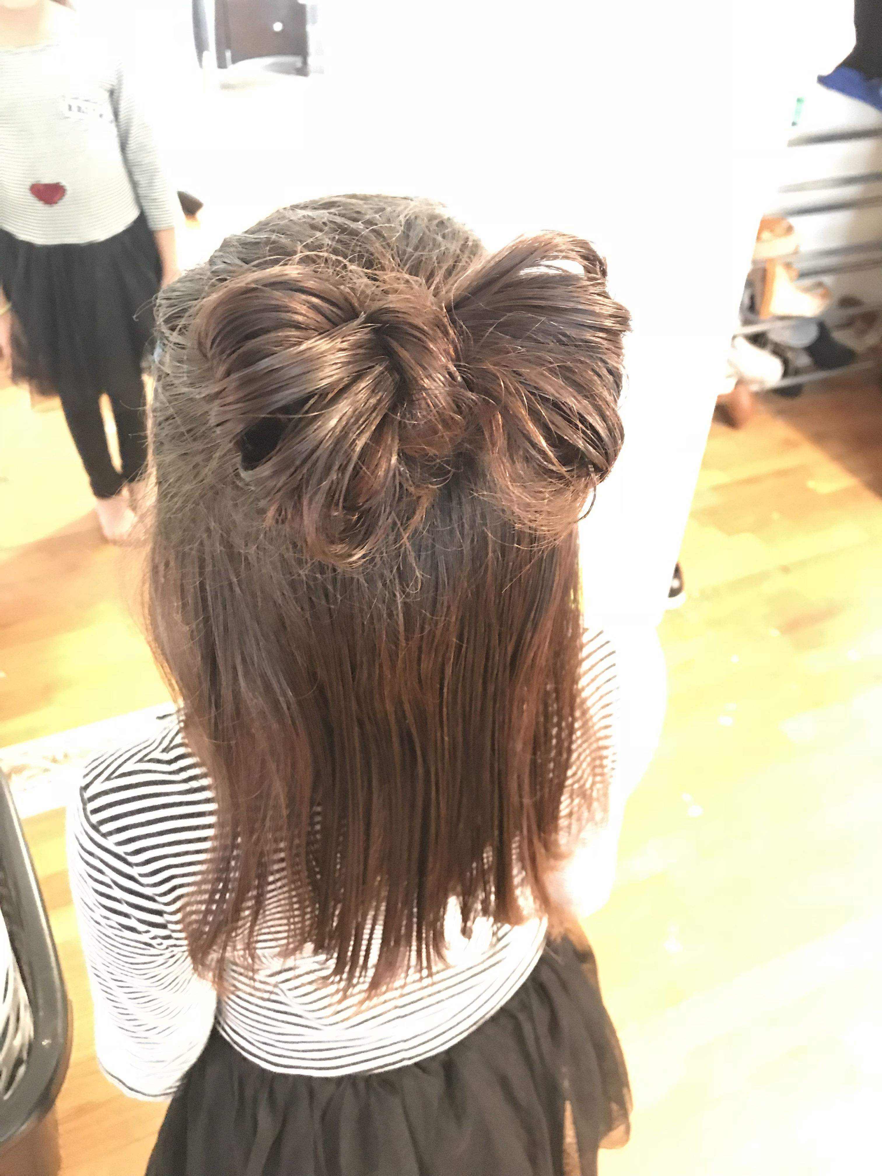 hair bow. short hair. | fix this hair. | hair styles, hair