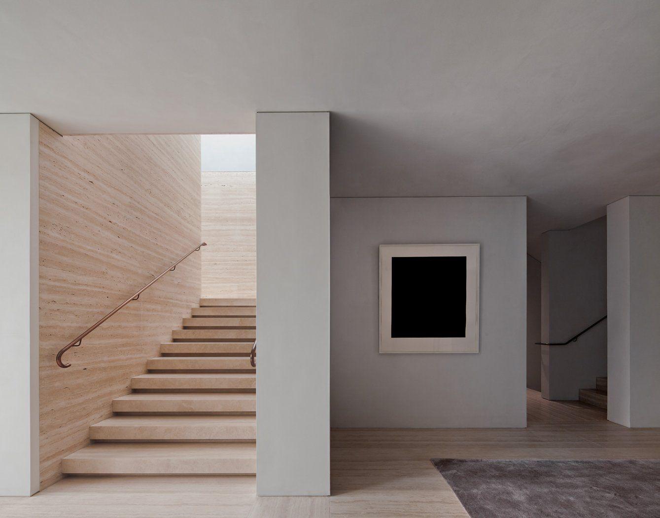Modernes bungalow innenarchitektur wohnzimmer david chipperfield architects u private house kensington  places