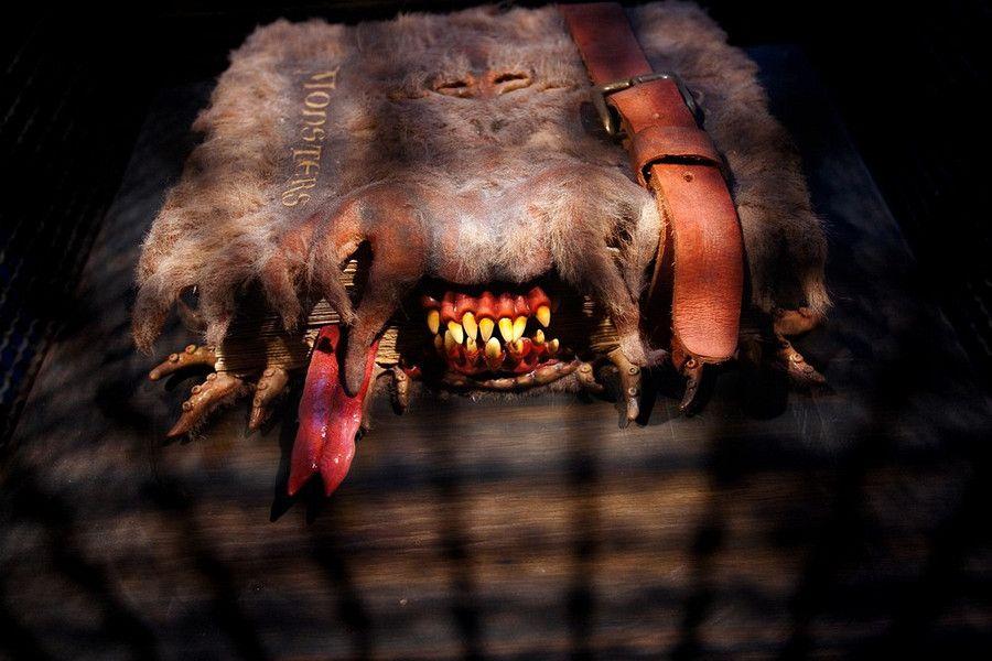 Harry Potter Monster Book Cover : Monster book harry potter pinterest