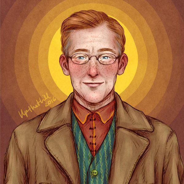 Arthur By Upthehillart Harry Potter Artwork Harry Potter Fan Art Arthur Weasley