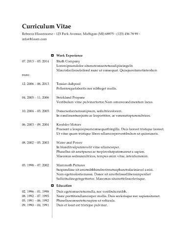 Checkmark Timeline Teacher Resume Pinterest Simple resume