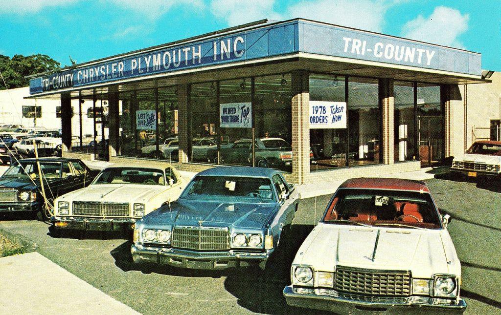 TriCounty ChryslerPlymouth, New Rochelle NY, 1978