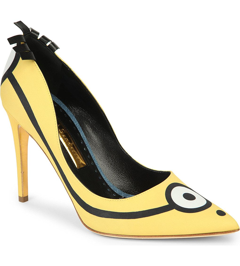 RUPERT SANDERSON - Minions limited edition court shoes | Selfridges.com