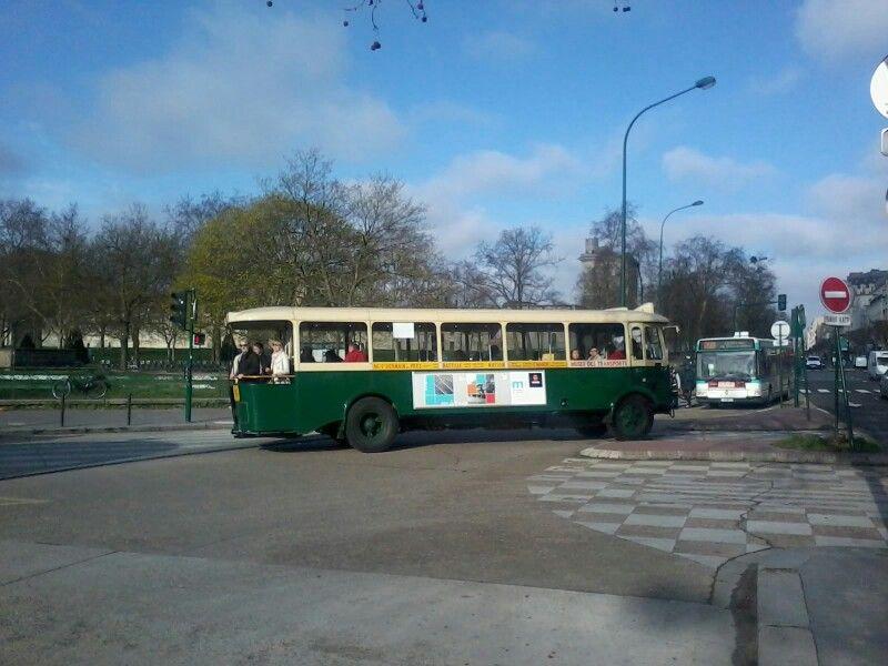 ancien bus de la RATP