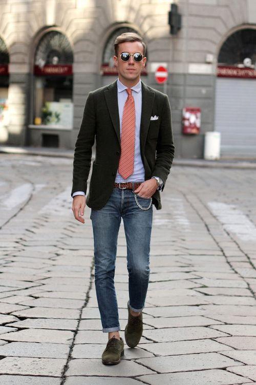 gravata colorida