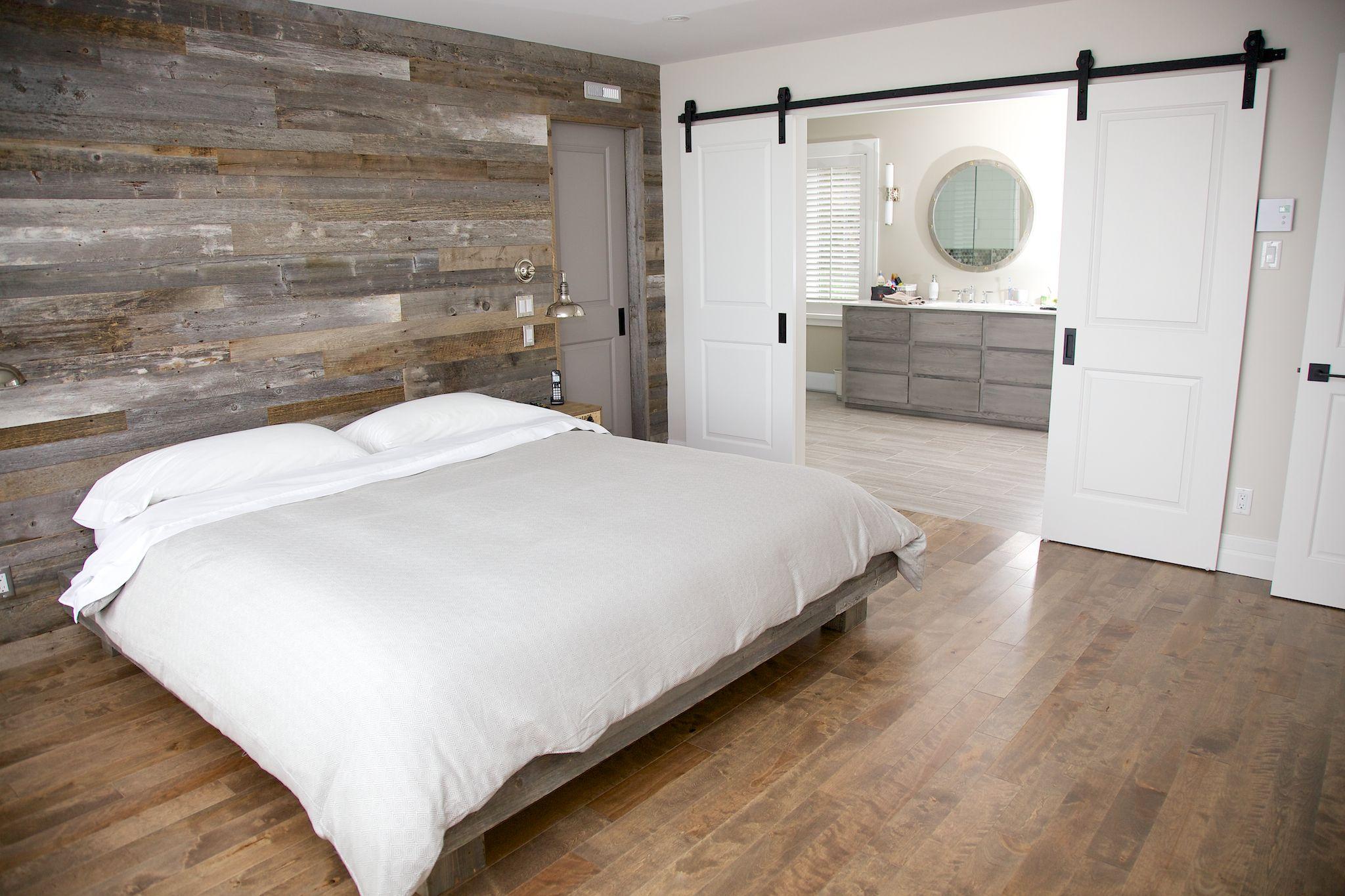 Bois Pour Mur Chambre bois de grange gris | idée chambre