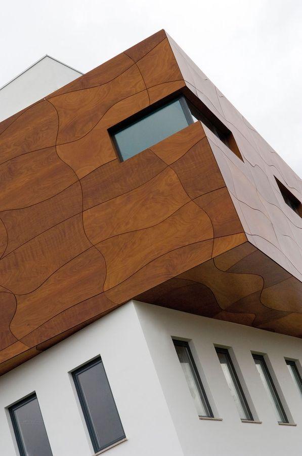 Exterior Cladding Systems: Exterior Wood Cladding PRODEX PRODEMA
