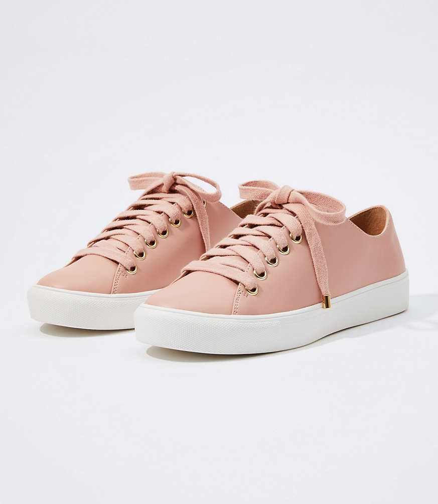 LOFT Lace Up Sneakers #loftclothes Shop LOFT for stylish women's clothing. You'll love our irresistible Lace Up Sneakers - shop LOFT.com today! #loftclothes