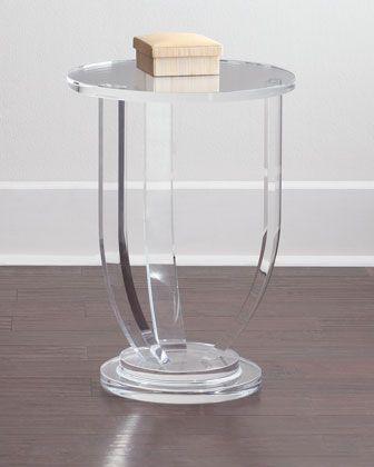 INTERLUDE Bayberry Side Table Navy Blue Pinterest - innovatives acryl esstisch design colico design italien