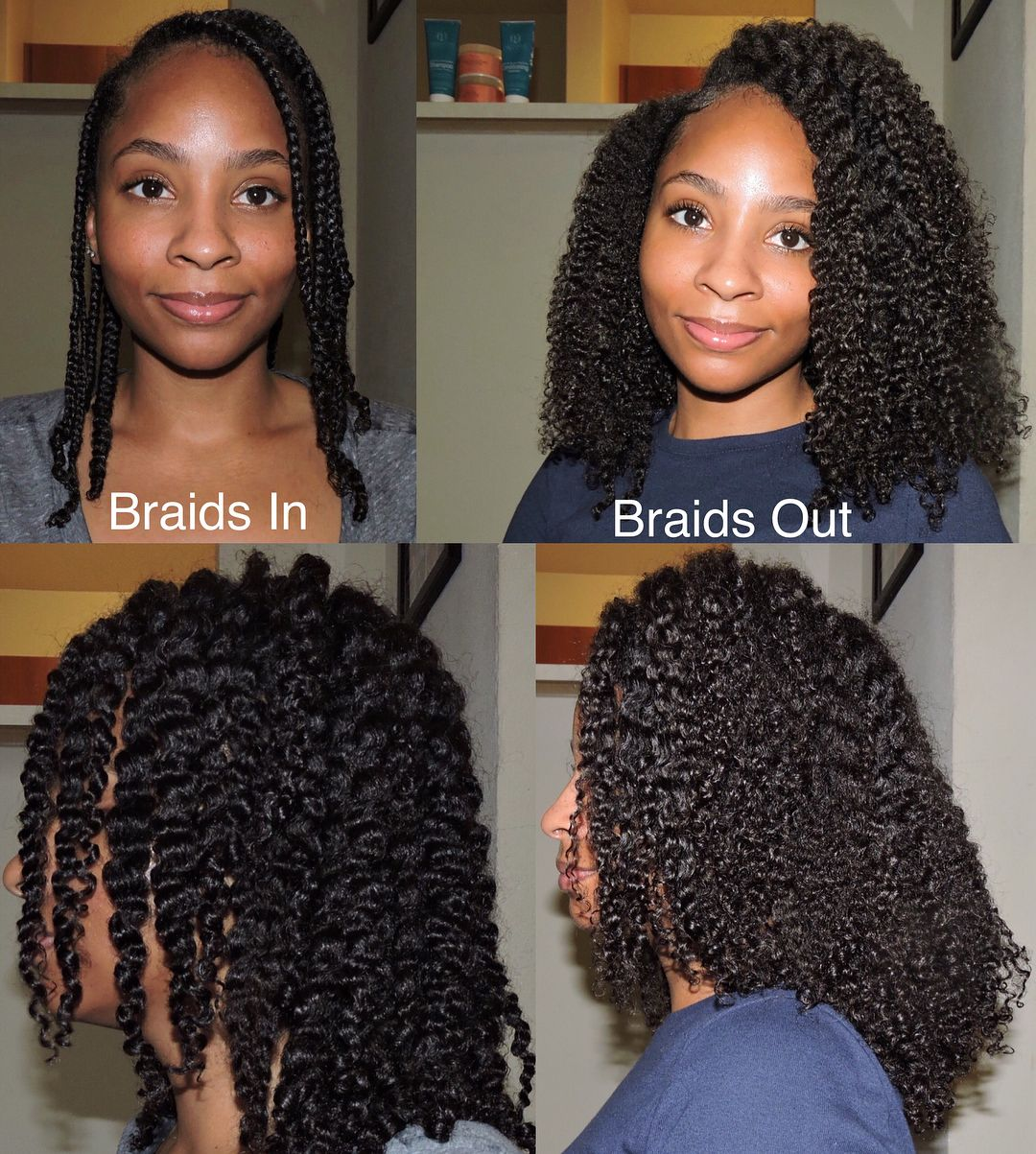 Follow Lavishcoils For More Natural Hair Pins Natural Hair Style Braid Out Natural Hair Hair Styles Braids For Short Hair