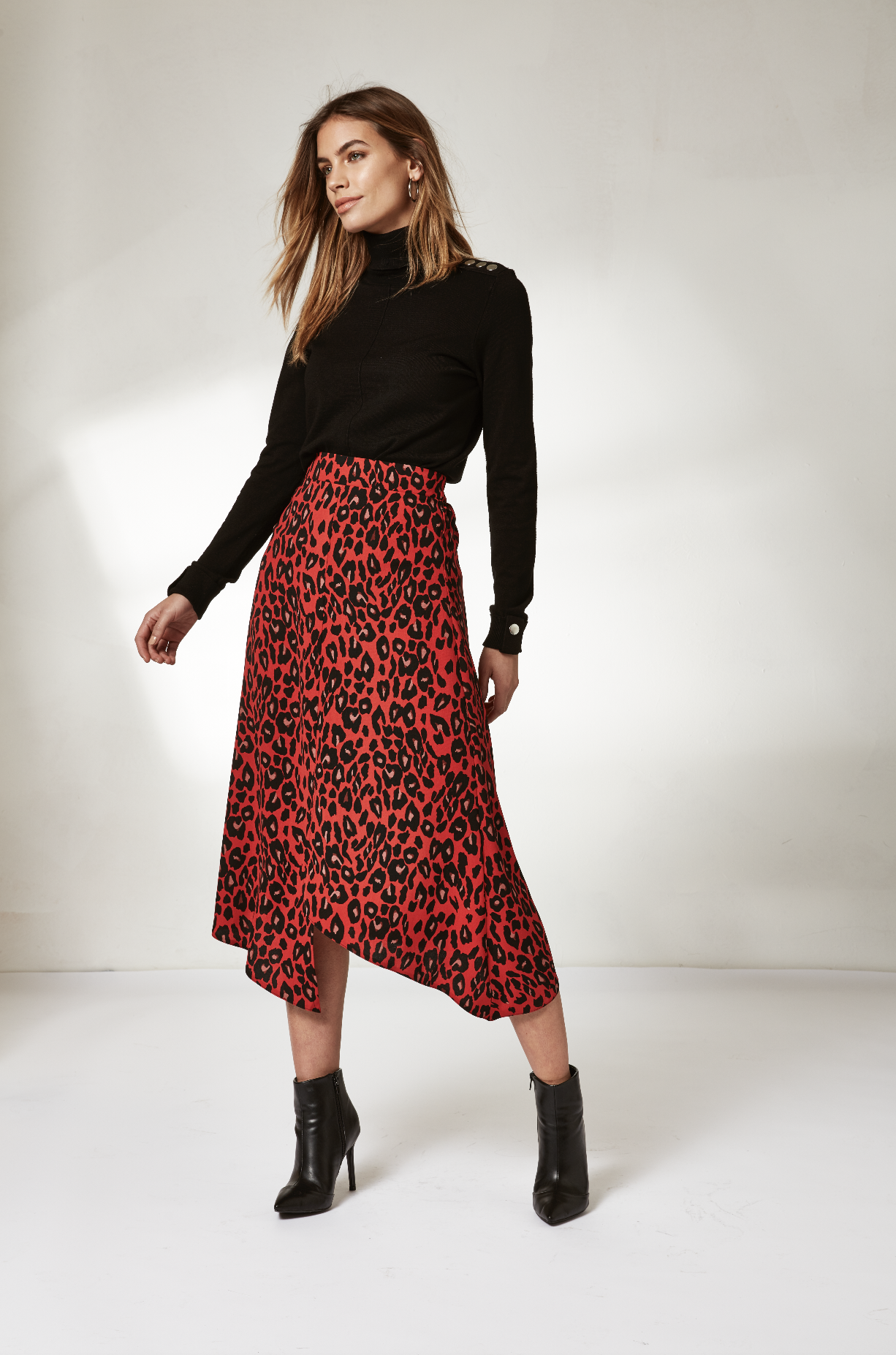 2088d8c32 A new year of style | Refresh your wardrobe for 2019 with the latest animal  print midi skirts | Wallis | Click to shop #WallisFashion #WallisLoves ...