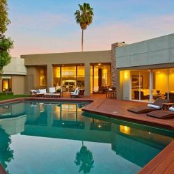 Beverly Hills Villa Composed Of Fine Crafted Details.