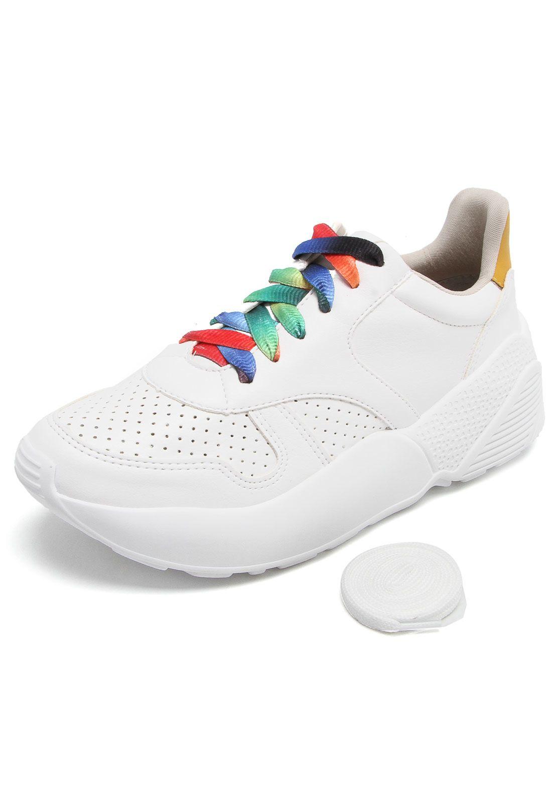 a11b1556522 Tênis Via Marte Dad Sneaker Chunky Branco - Compre Agora
