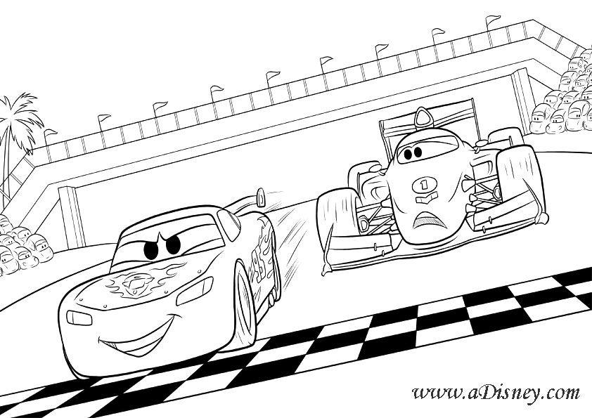 Cars 2 Dibujos Para Pintar Dibujos Para Colorear Dibujos