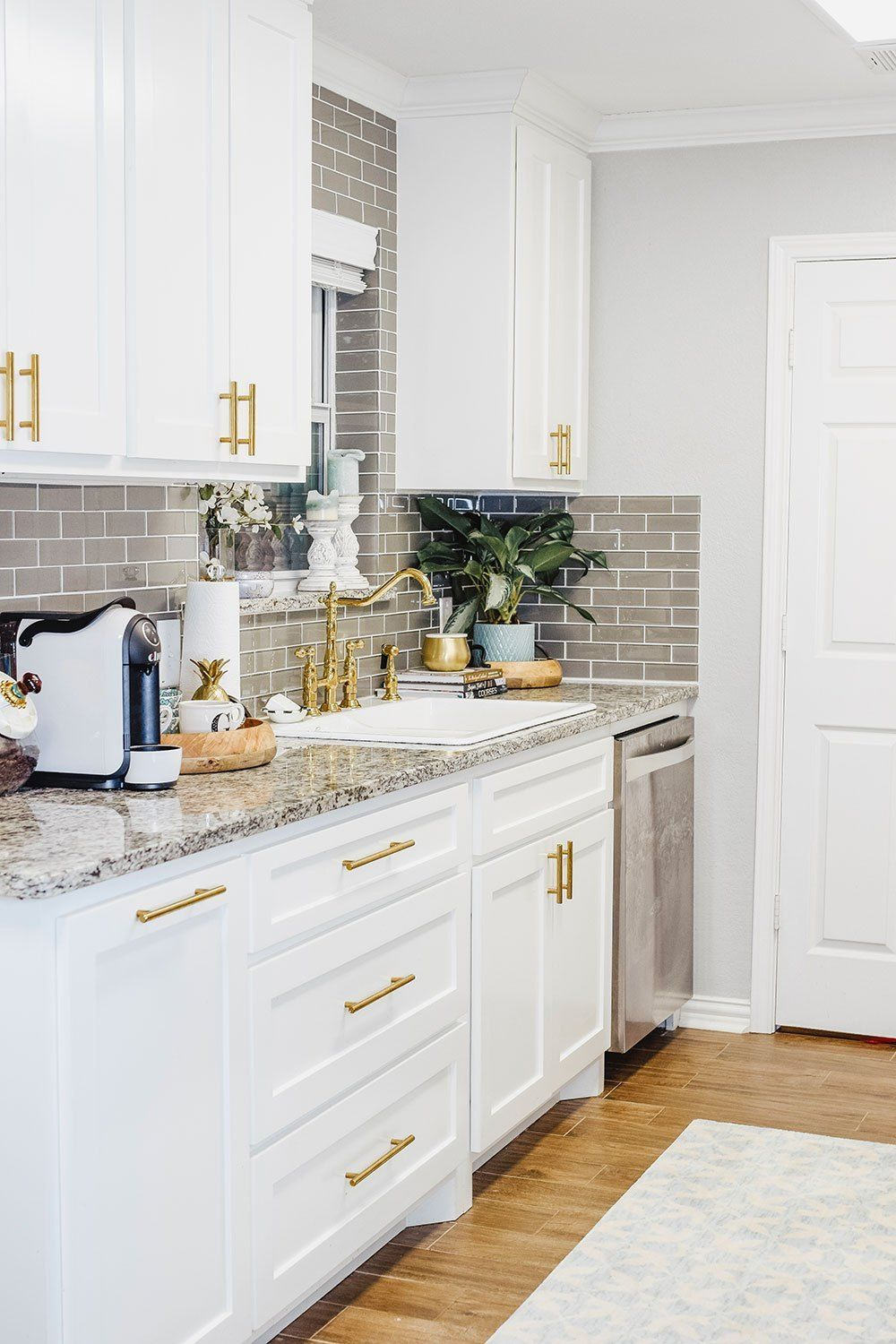 Our Kitchen Sink Woes Our Small Kitchen Reveal Vandi Fair Kitchen Remodel Small Kitchen Remodel Photos Kitchen Design