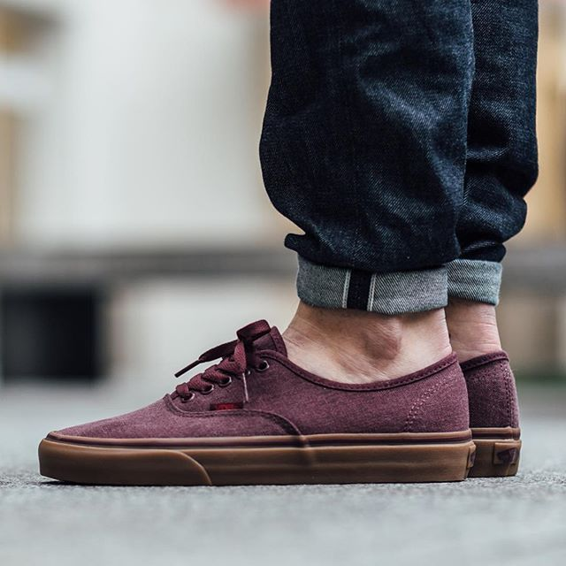 Vans Authentic Light Gum Port Royale
