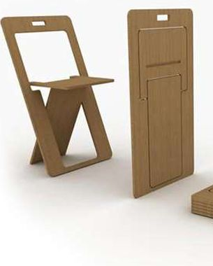 FOLD FLAT CHAIR DESIGN   Home ideas   Pinterest   Space ...