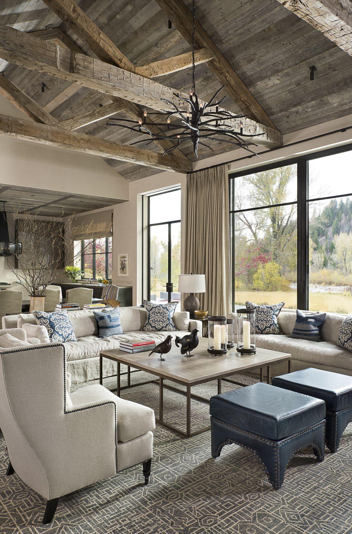 Arredamento Rustico Casa love the ceiling!!! jada windows thermally broken steel