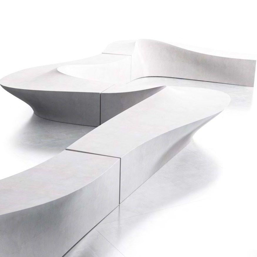Modular Bench WAVE   @lab23srl