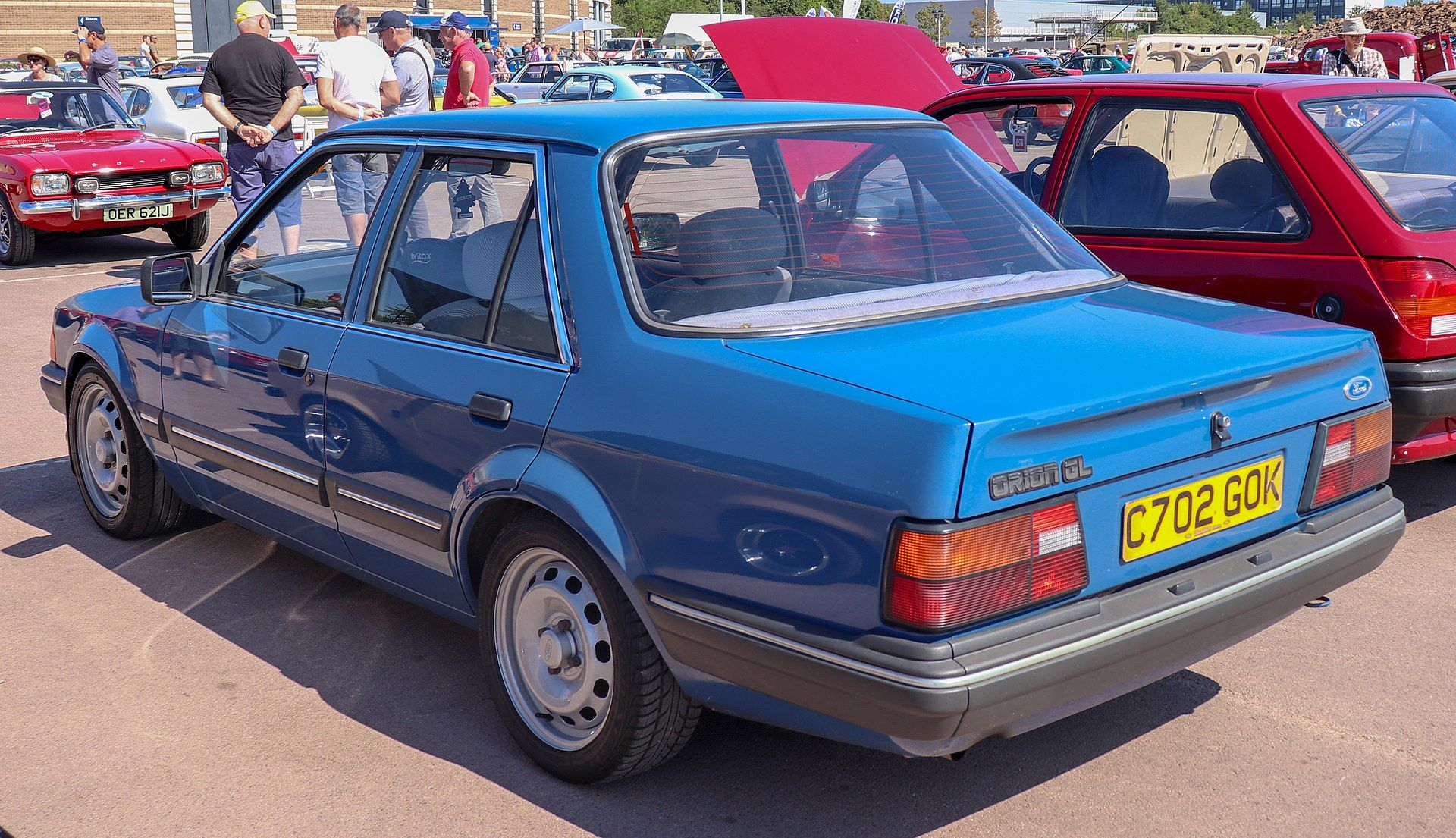 1985 Ford Orion Gl 1 3 Rear Ford Orion Wikipedia Ford Orion