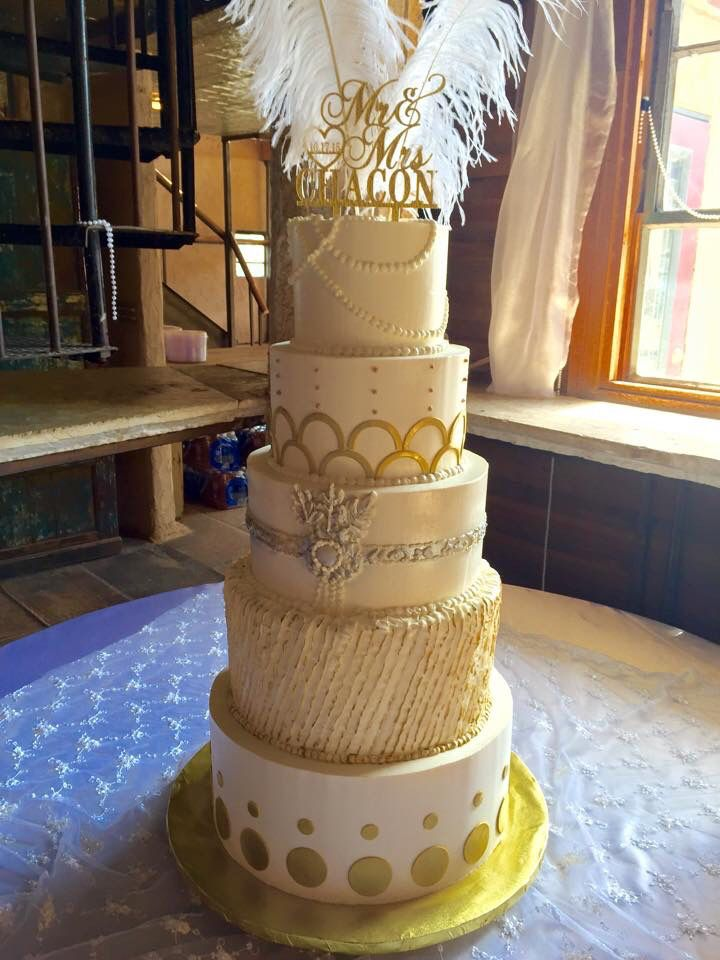 Great Gatsby Theme Wedding Cake Great Gatsby Cake Great Gatsby
