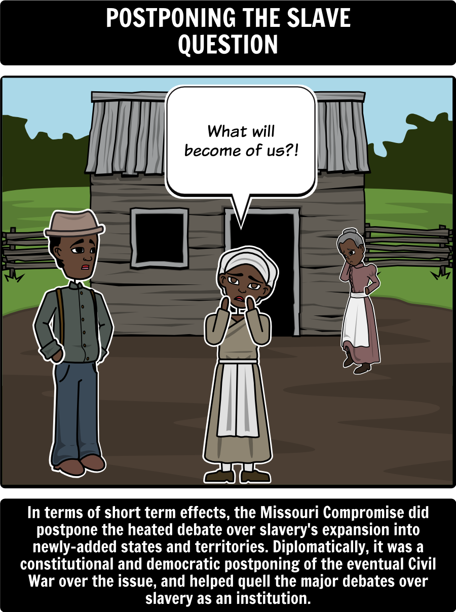 missouri compromise of 1820 timeline in this activity students missouri compromise of 1820 major effects in this activity students will use a