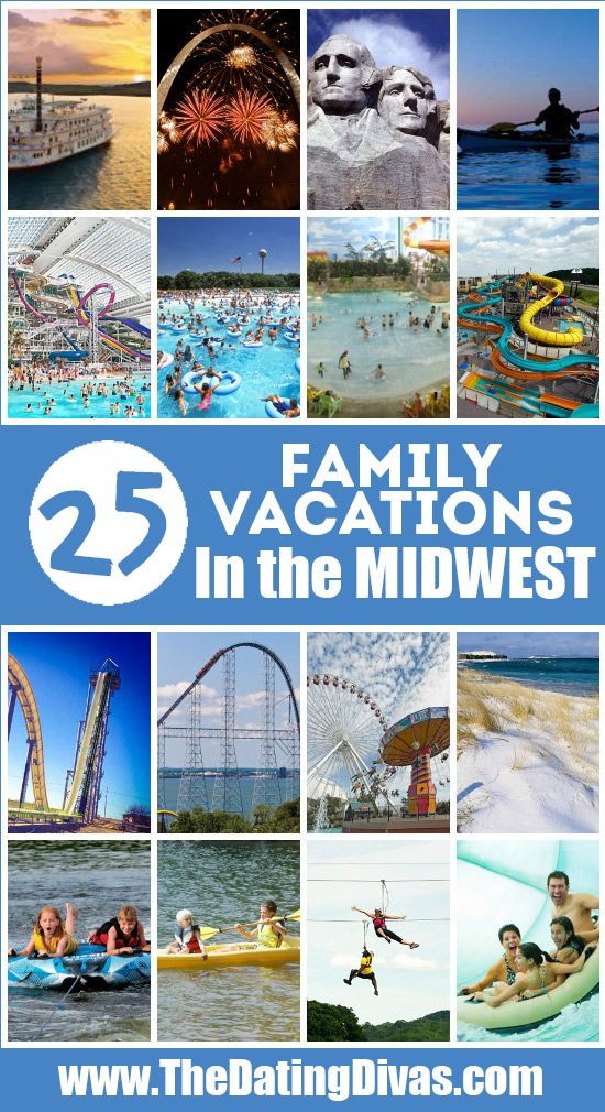 Kid Friendly Vacation Destinations Midwest