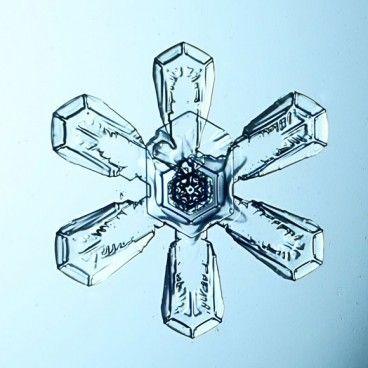 The Stunning Macro Snowflake Photography of Sergey Kichigin