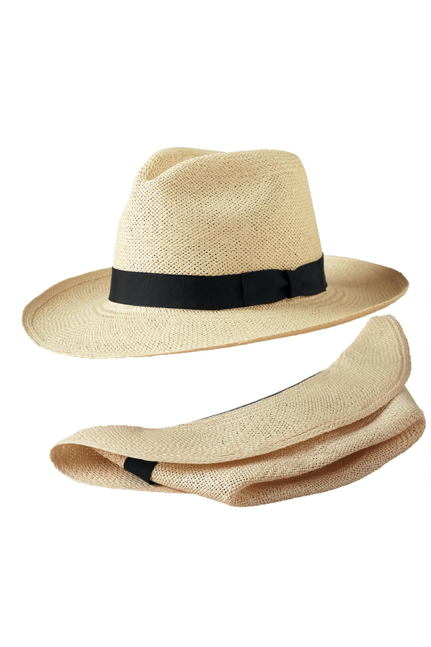 b123a63209a Packable Panama Hat   Travelsmith  84.00