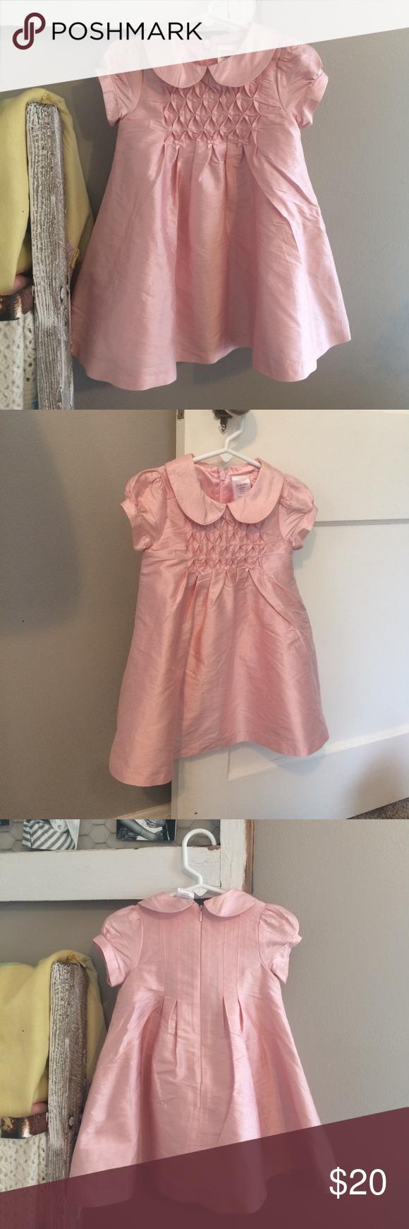 Pink dress baby  NWT Gymboree Baby Girl ALine Silk Taffeta Dress NWT Adorable light