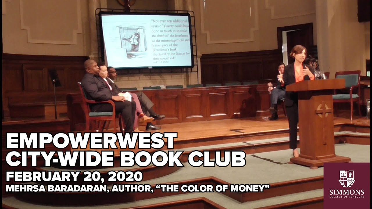 02 20 2020 5th Annual Empowerwest City Wide Book Club Book Club Books The Color Of Money