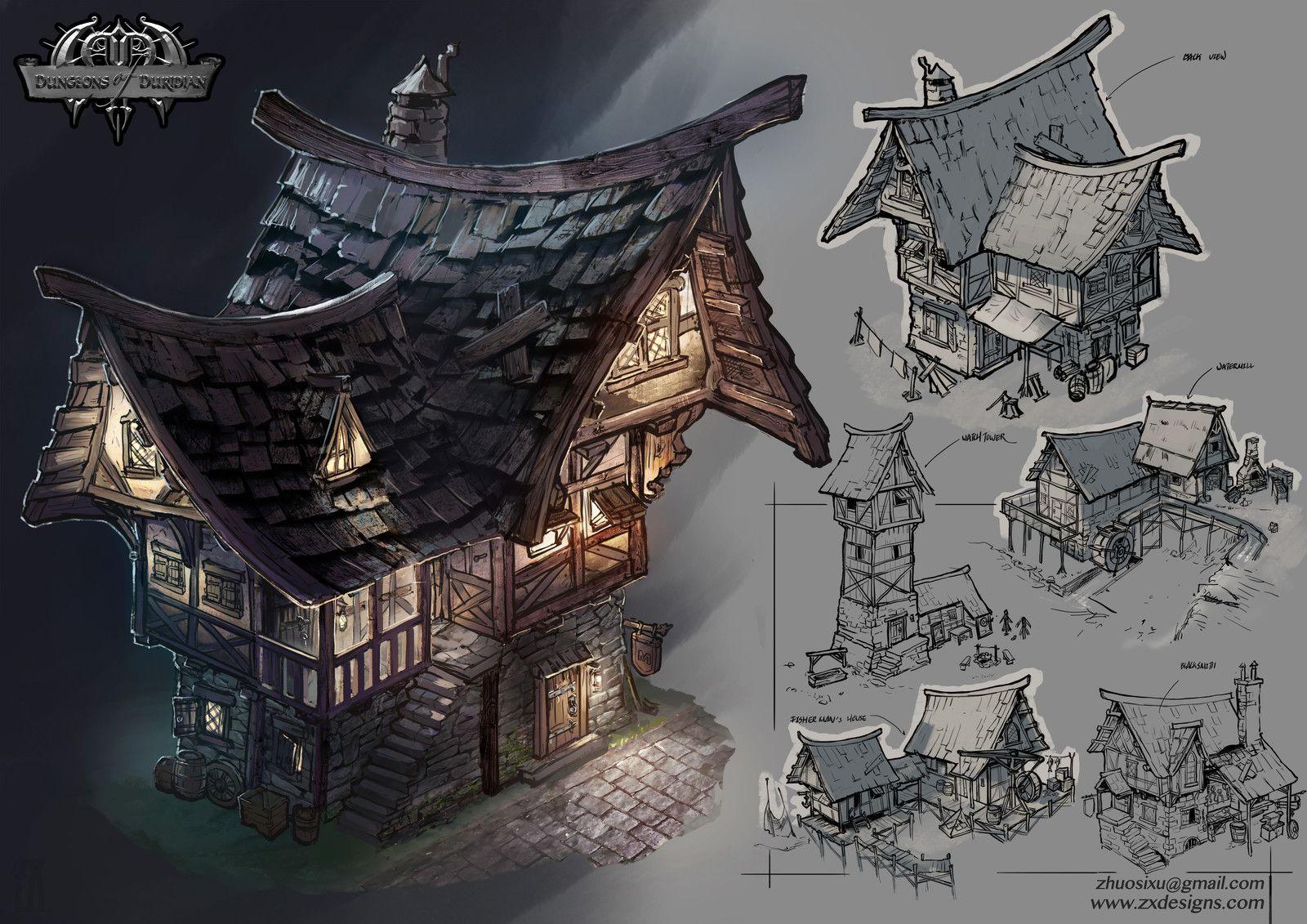 Project: DoD, Joyce Xu on ArtStation at https://www.artstation.com/artwork/oW0GO