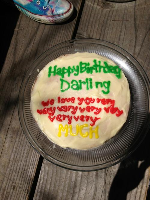 Conor Oberst Birthday Cake