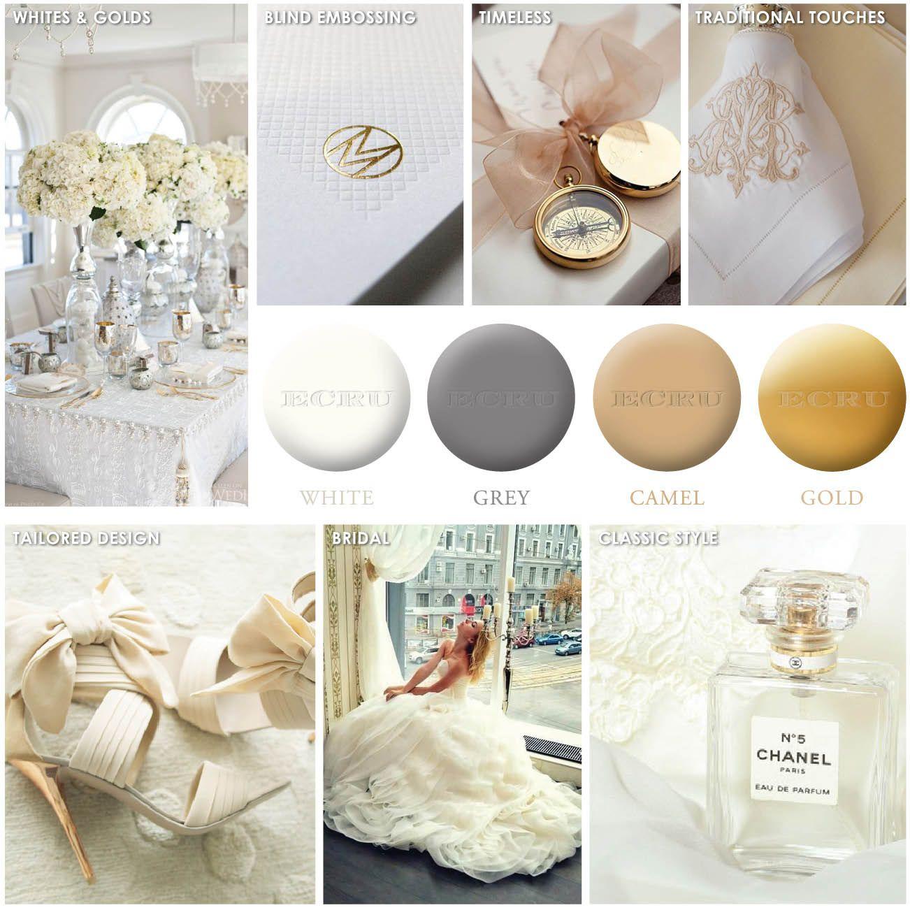 Ecru Branding Atlanta Luxury Wedding Planner Suzanne Reinhard Events White Gold Charcoal Gray