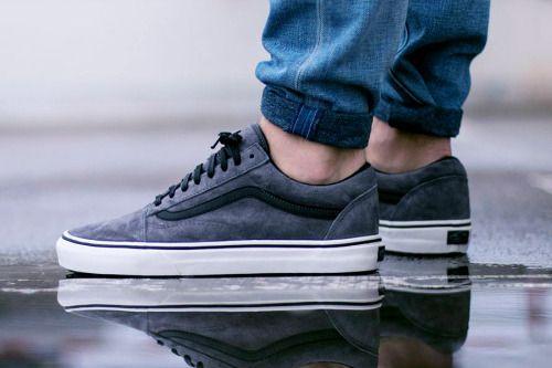 Vans Old Skool MTE Grey (via Kicks ) | Kicks in