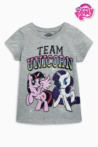 01fb1c25 Buy Grey My Little Pony Short Sleeve T-Shirt (3-16yrs) online today at Next:  United States of America