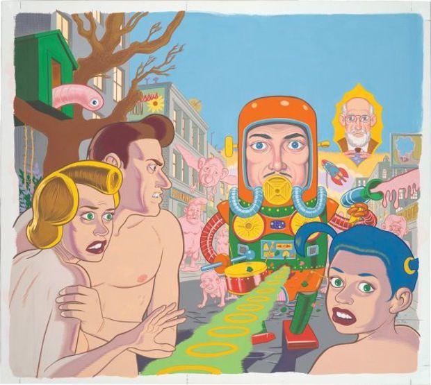 Exposición de Daniel Clowes en Museo de Arte Contemporáneo de Chicago