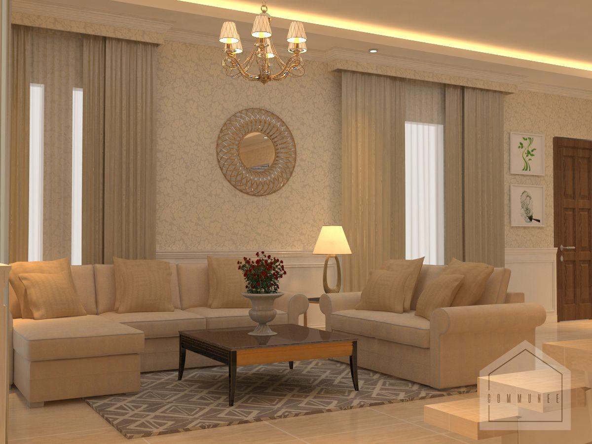 Desain Ruang Tamu Bergaya Klasik Yang Mewah Dan Menawan Portofolio By Communee Interior Designer Di Sejasa Com Home Decor New Homes Home
