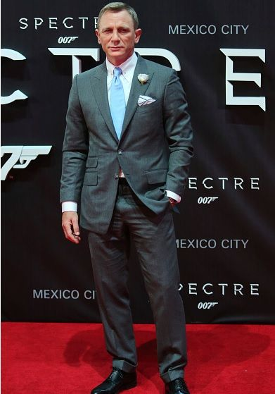 Daniel Craig attends the red carpet of the 'Spectre' film Premiere at Auditorio Nacional on November 02, 2015 in Mexico City, Mexico.