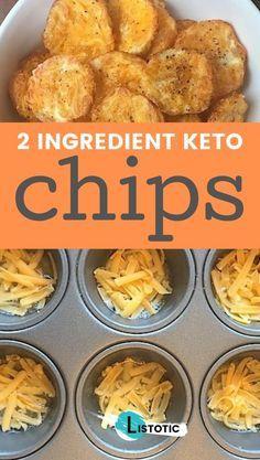 Easy, Low Carb, SUPER tasty chips! Just 2 ingredie
