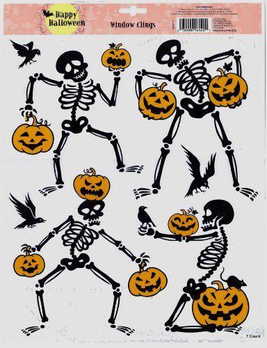 Spooky Eyes Halloween Window Clings @ niftywarehouse - halloween window clings