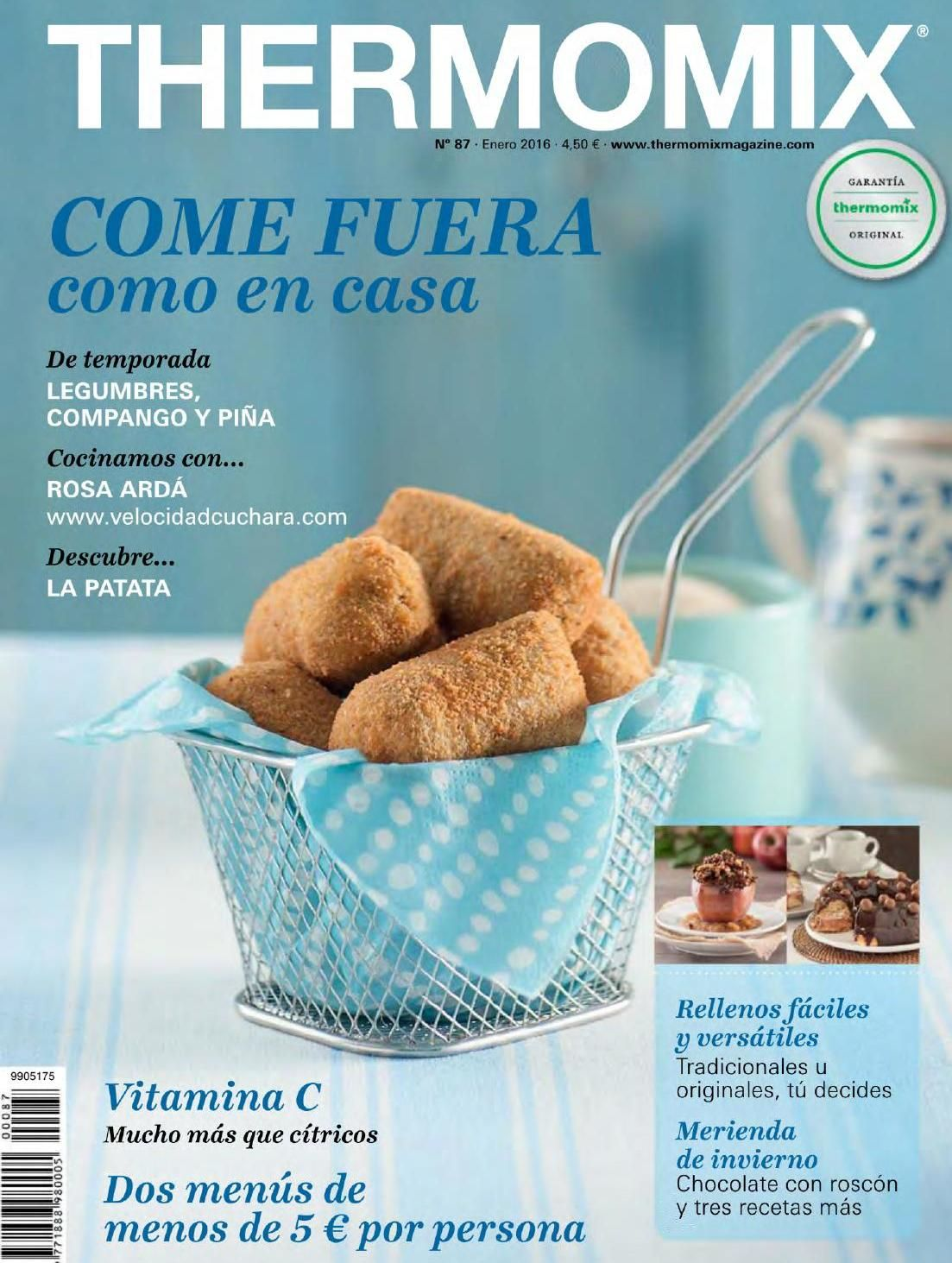 Thermomix Libros Revista Thermomix Enero 2016 By Argent Issuu Thermomix