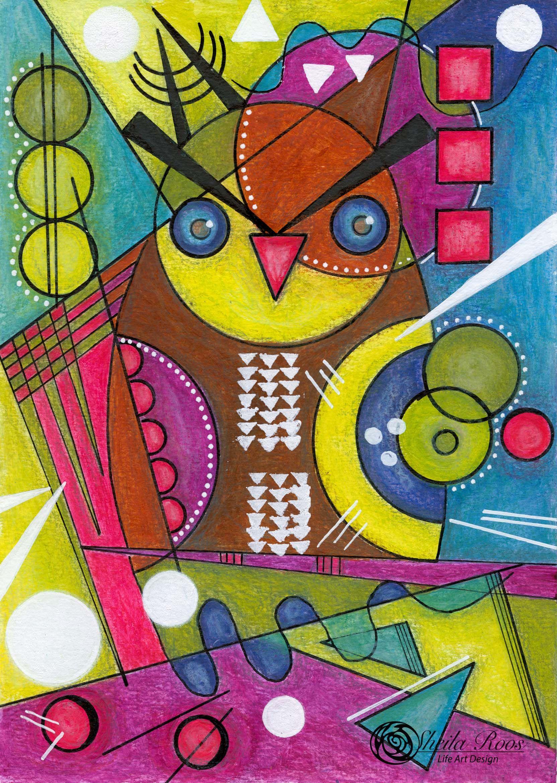 Love Art Happy Life Wassily Kandinsky Inspiration