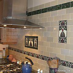 Decorative Tiles For Kitchen Fascinating Decorative Tilesart Deco Arts And Crafts Art Nouveau Tile Design Inspiration