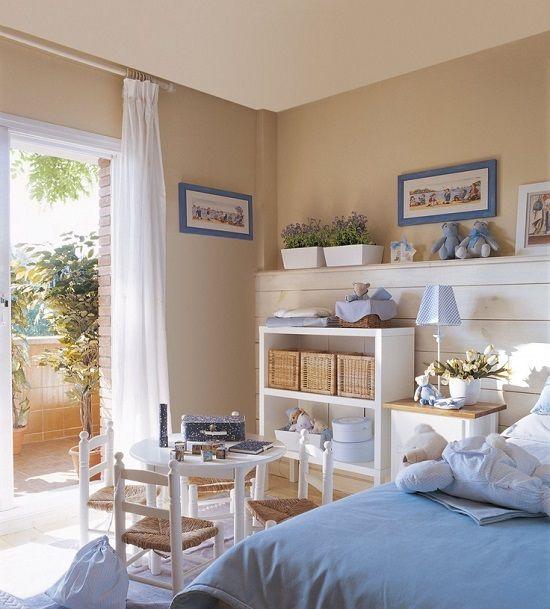 Habitaciones infantiles - Habitaciones infantiles azules ...