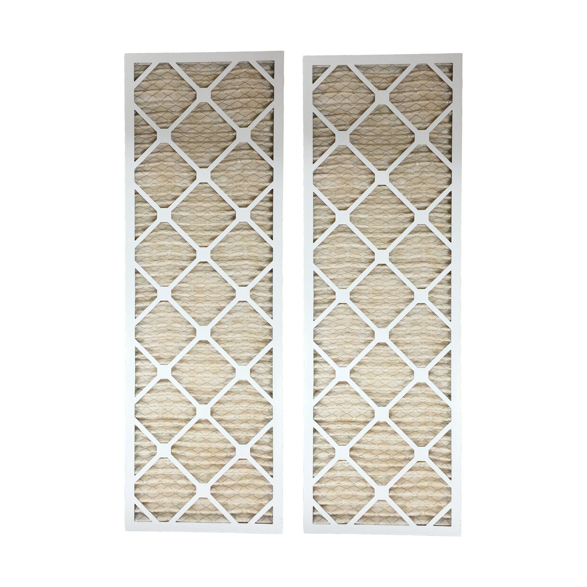 2pk 12x36x1 MERV11 Allergen Air Furnace Filters Furnace