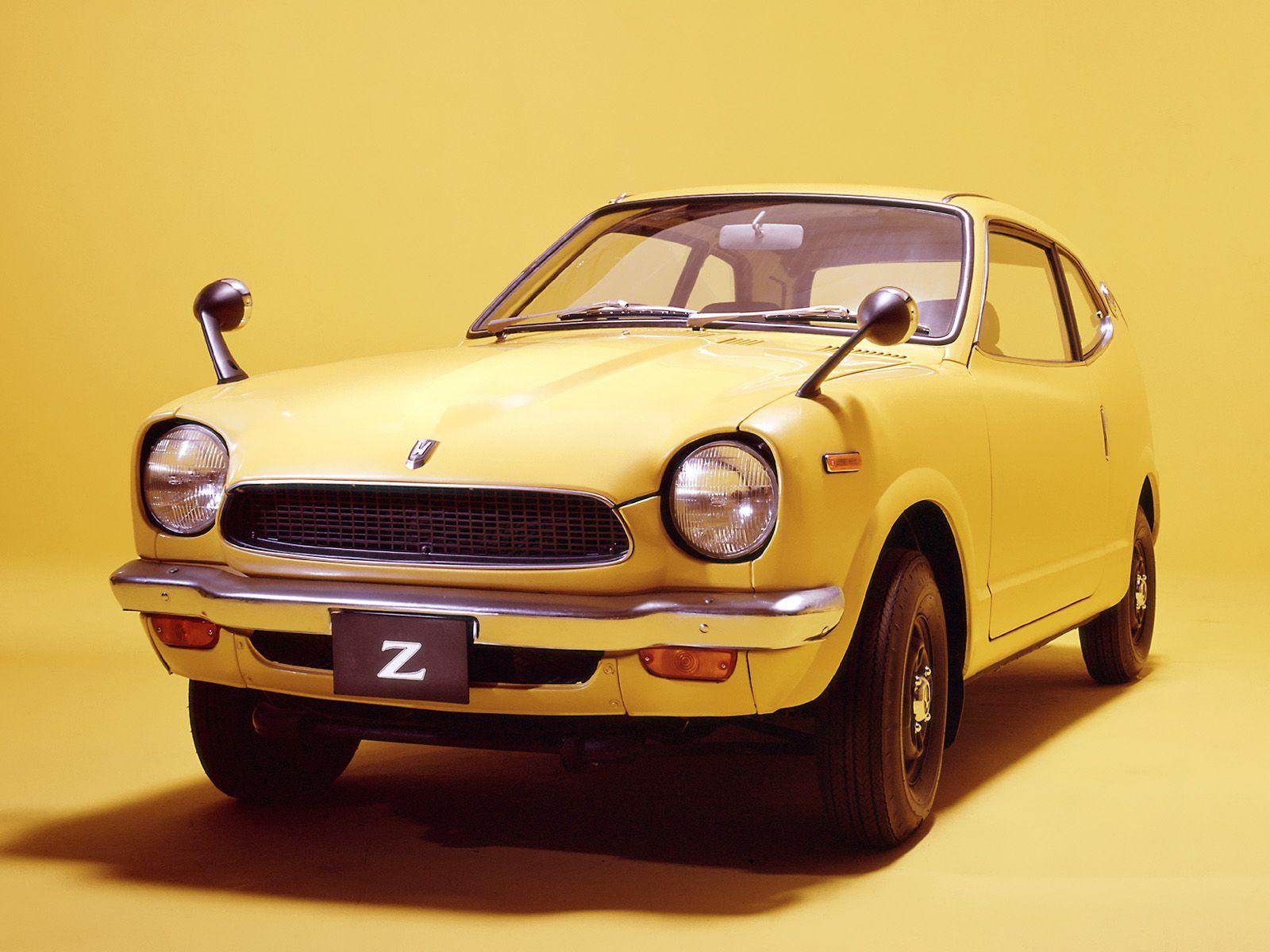 Honda Z - 1970 | Japanese cars, Car, Honda